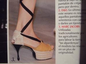 Vogue España, março 2009
